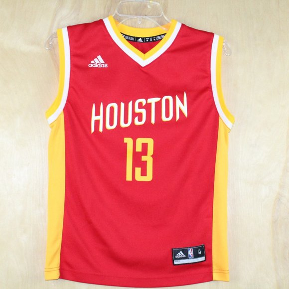 Adidas Youth Houston Rockets Red/Yellow